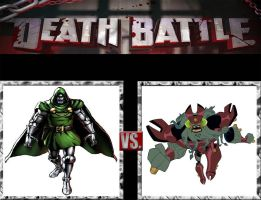 Request #126 Doctor Doom vs Vilgax by LukeAlanBundesen