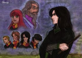 Contest-Severus Snape by Dhesia