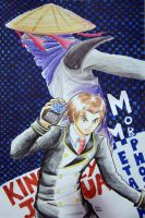 Ozine 2012 Art Contest Entry: MM by witch-girl-pilar