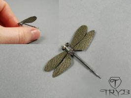 Steampunk dragonfly by TRYBcomPL