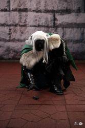 Drizzt Dark Elf Cosplay Costume DragonCon 1 by Pallycard