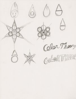 Color Theory Entertainment Logo concepts by ColorTheoryBerry