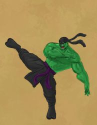 Ninja Hulk Super Rough Sketch by Shadow696
