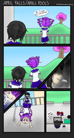 Yandere sim comic - April fools by AnimePhantomMe