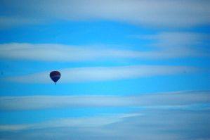 balloon in the haze by Pendragon-007