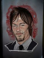 Norman Reedus (2) by IgnacioRC