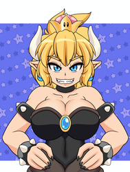 Animation: Bowsette by freelancemanga
