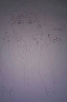 Samuel Kingsley and Milo by ThaDeviousHyena93