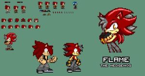 .:Request:. ~ Flame Quills/Bangs Revamp by SonicDBZFan4125
