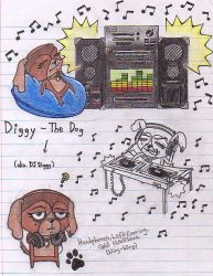Diggy the Dog by SketchReborn