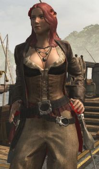 Anne Bonny (Pirate Lords) by StarToursTraveler
