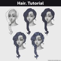 Hair. Tutorial by Anastasia-berry