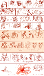 I :: Love the Way You Lie storyboard by RyuichiFoxe
