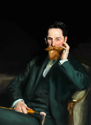 Masters Studies IV - Sargent by AntuDraws