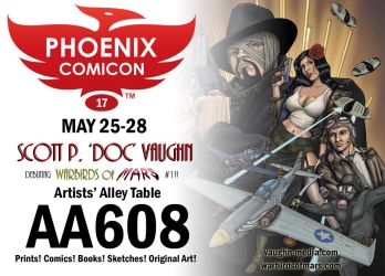 Phoenix Comicon 2017 by DocRedfield