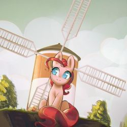 Windmill, windmill for the land by mirroredsea