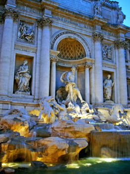 Trevi Fountain by Alpmille