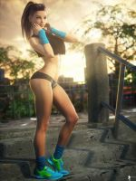 Sport is Life 1 by LaMuserie