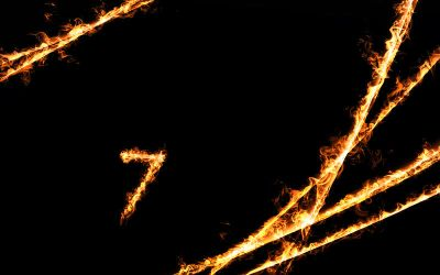 Win 7 Fire Background by d67