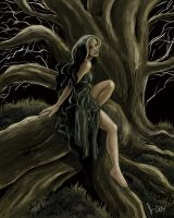 Witch of the Forest by JamieCOTC