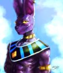 Beerus painting by Mark-Clark-II