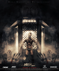 Poster Hell in a Cell 2013 by ahmed-aldhfeeri