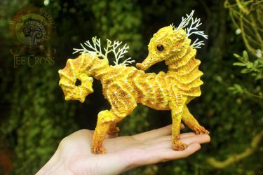Sold, Sculpted Seahorse! by Wood-Splitter-Lee