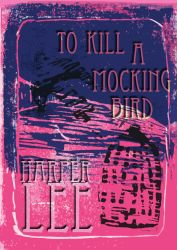 To Kill A Mockingbird Lino print cover by hjwong