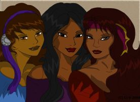 Gypsy Elves by Jaide12