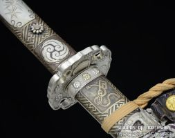 Antiqued High Speed T10 Steel Japanese Tachi 2 by swordsofnorthshire