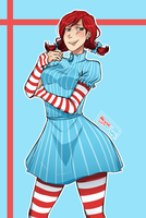 Sassy Wendy by NessieUsagi
