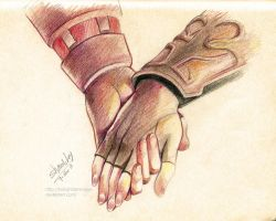 All I need is your hand in mine by Kim-SukLey