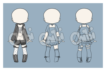 Outfit Adopts [CLOSED] by Chibitsuna