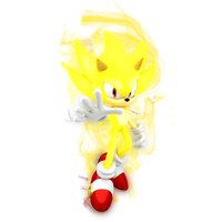 Super Sonic Render by JaysonJeanChannel