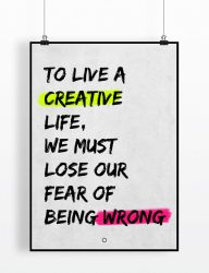 To live a creative life ~ TQ by typequotes