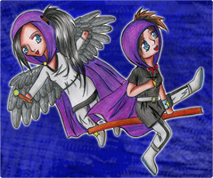 :KIRIBAN: Destiny Keeper and Starfire by Elythe