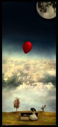 red balloon by Tattoomaus78