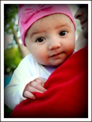 Amelia in a Pink Hat by shutterbabe2006