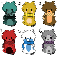 Scarfblob Adopts #2 | Open by Fenwa-Adopts