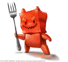 DAY 275. Jelly Demon by Cryptid-Creations