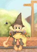 the little mage by hessakaine