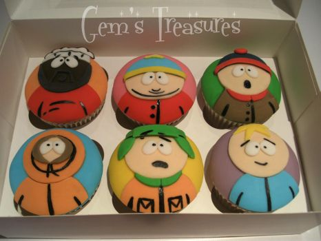 South Park Cupcakes! by gertygetsgangster