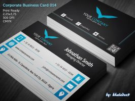 Corporate Business Card 014 by khaledzz9