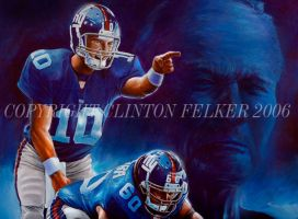 NFL NY GIANTS ELI MANNING by cgfelker