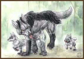 'Yena Family by Tacimur
