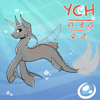 [YCH - Auction] Under the sea by Ak4neh