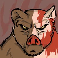 Manbearpig by SonicPanther