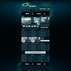 ElitGamers Website by snowy1337