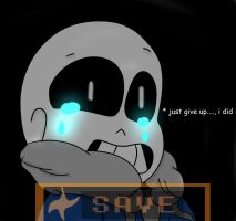 * just give up,.... i did (Undertale) by xXNovaDrawsXx