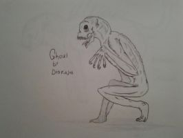Cryptid for documentry: Ghoul by Trendorman